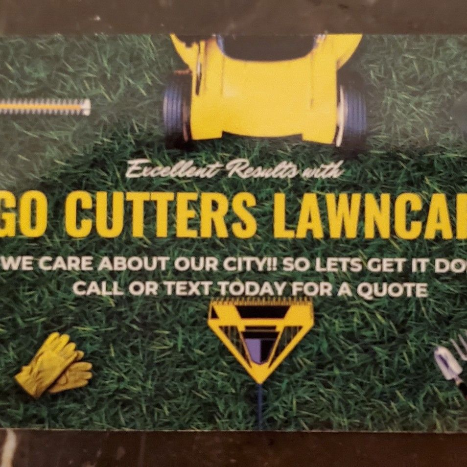 Go Cutters Lawncare services