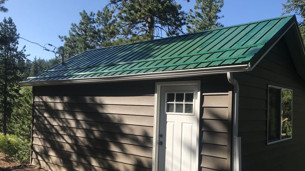 Metal roof and siding