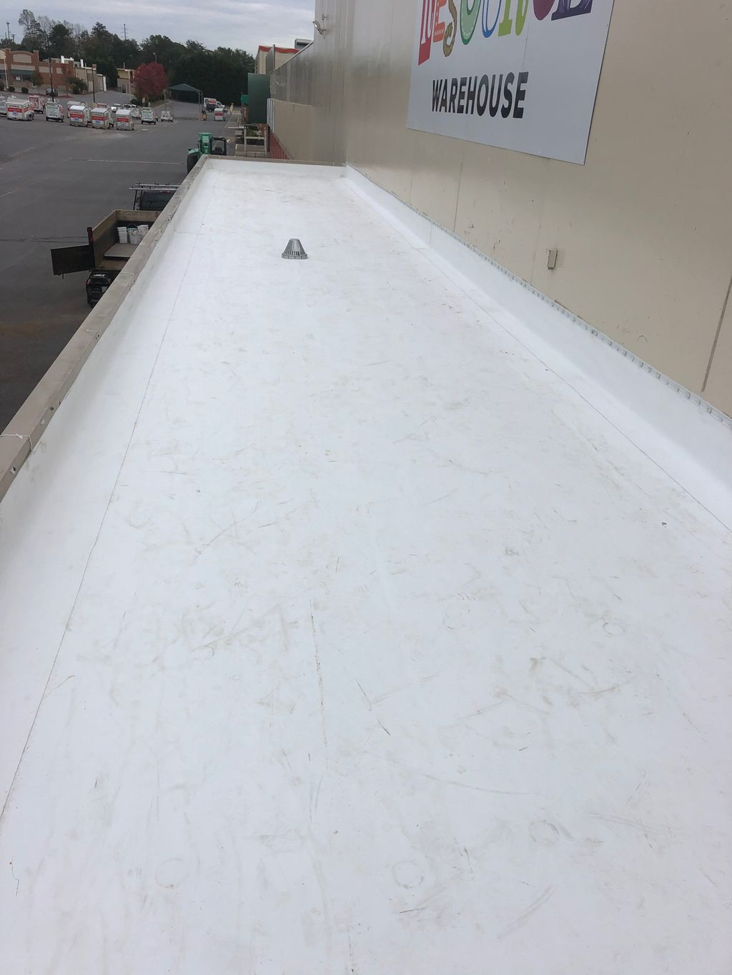 Tpo roof replacement