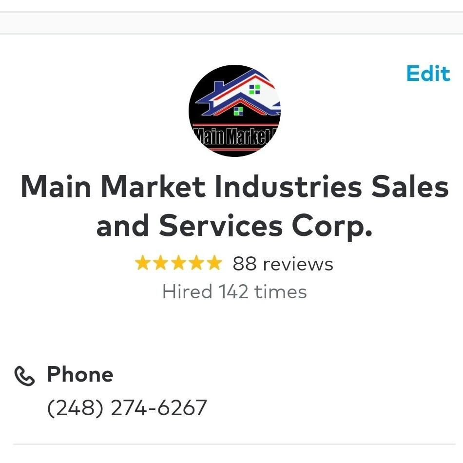 Main Market  Industries Sales and Services Corp.