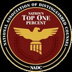 Awarded Nation's Top One Percent attorney!