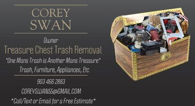 Avatar for Treasure Chest Trash Removal Garland, TX Thumbtack