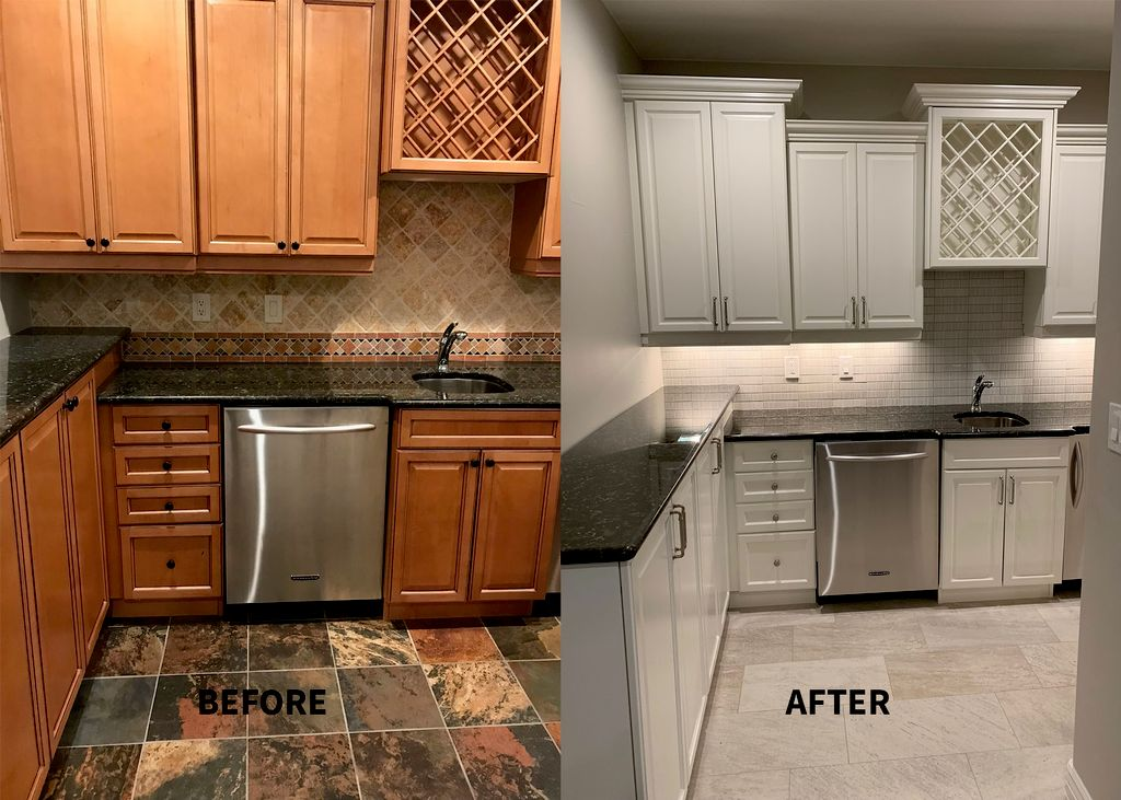 Cabinet Painting & Interior Painting