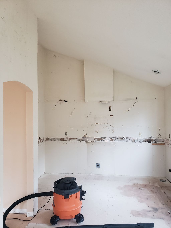 Home Remodel In Progress