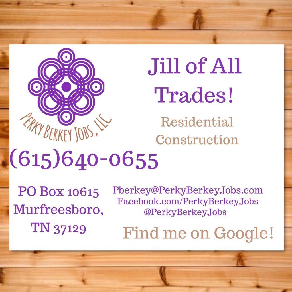 Perky Berkey Jobs, LLC