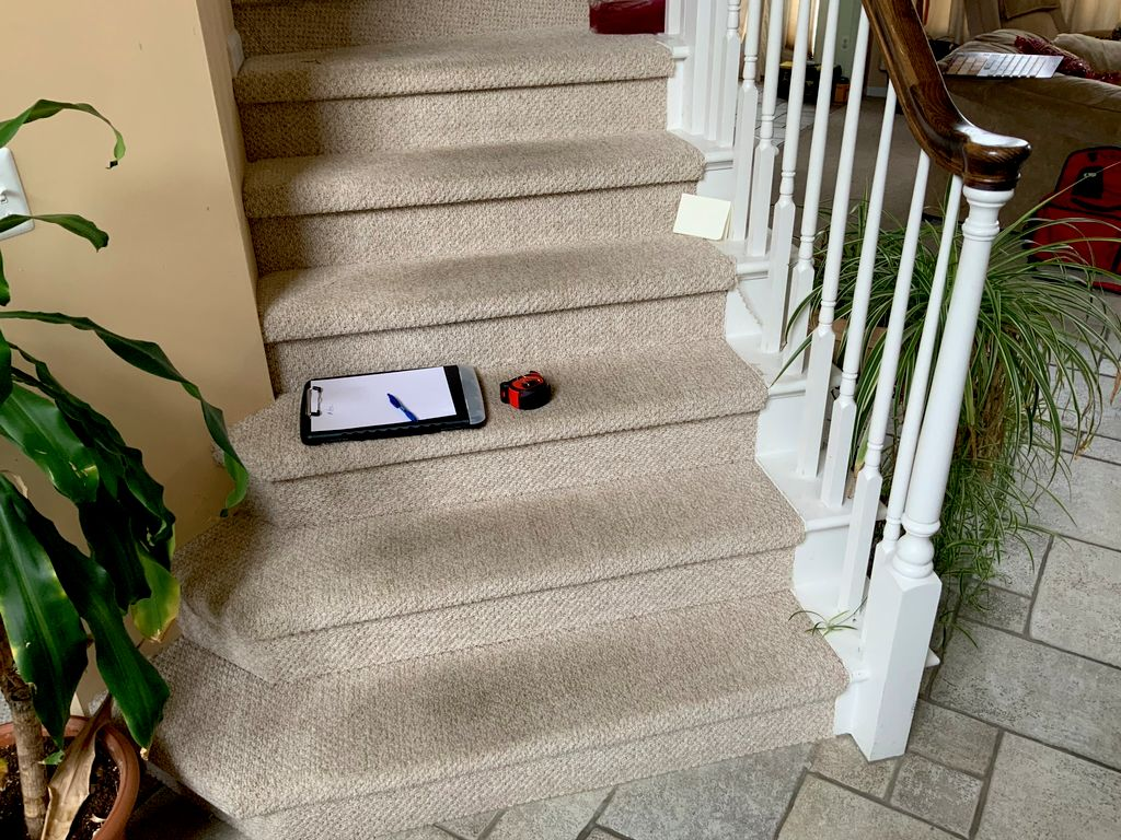 Hardwood flooring & Staircase with refinishing