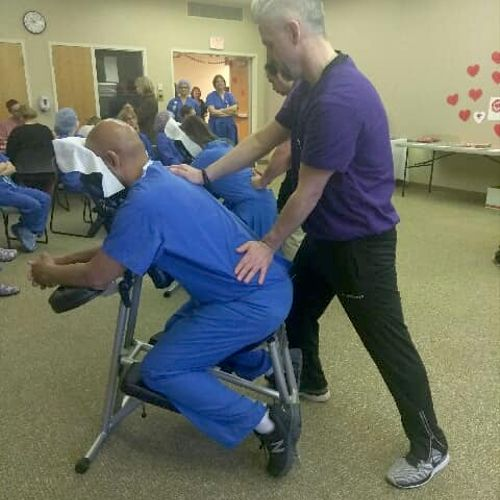 Have an event coming up? A chair massage is a great option!