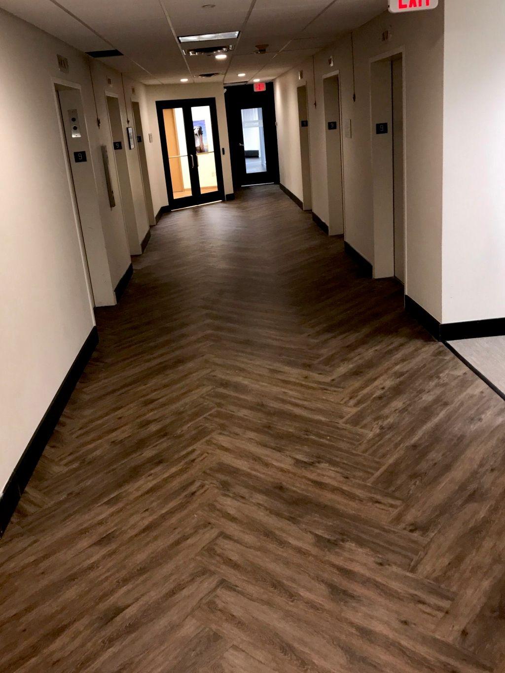 Custom office floor