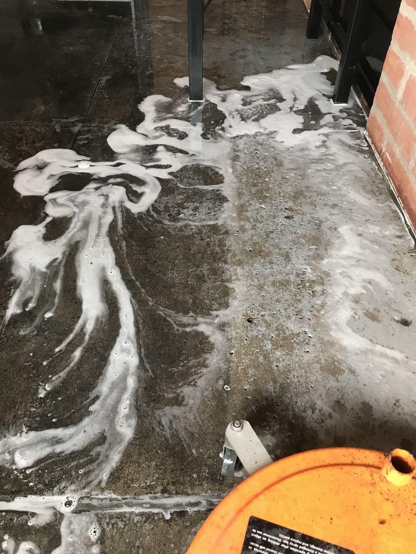 Driveway Steam Wash