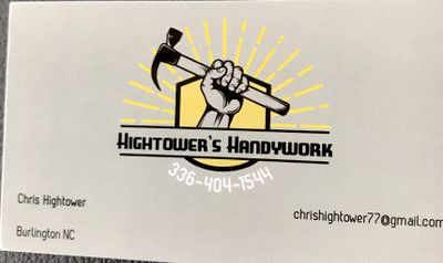 Avatar for Hightower's Handy Work - Burlington NC Burlington, NC Thumbtack