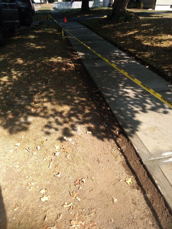 50ft Sidewalk