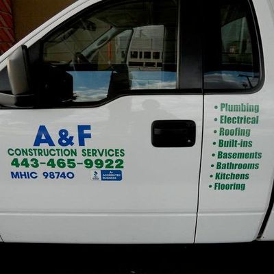 Avatar for A & F CONSTRUCTION SERVICES Owings Mills, MD Thumbtack