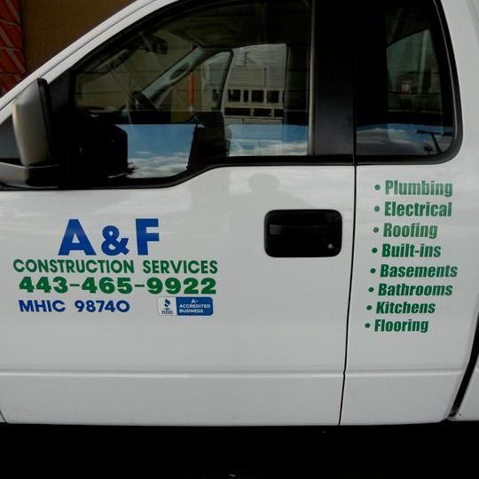 A & F CONSTRUCTION SERVICES