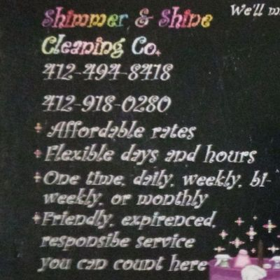 Avatar for Shimmer & Shine Cleaning Co