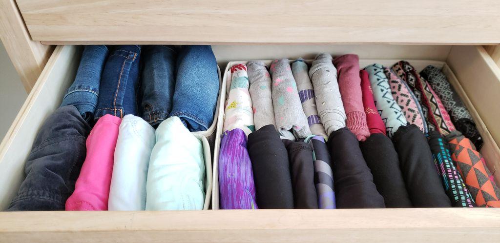 Kids Closet & Drawer Organizing