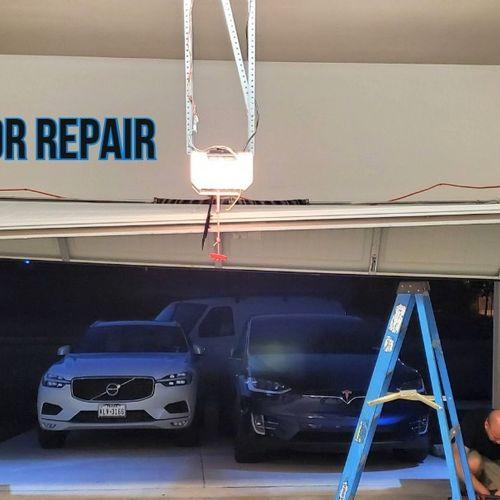 We fix off track Garage Doors