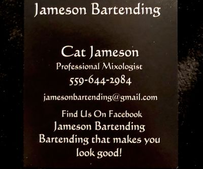 Avatar for Jameson Bartending Services