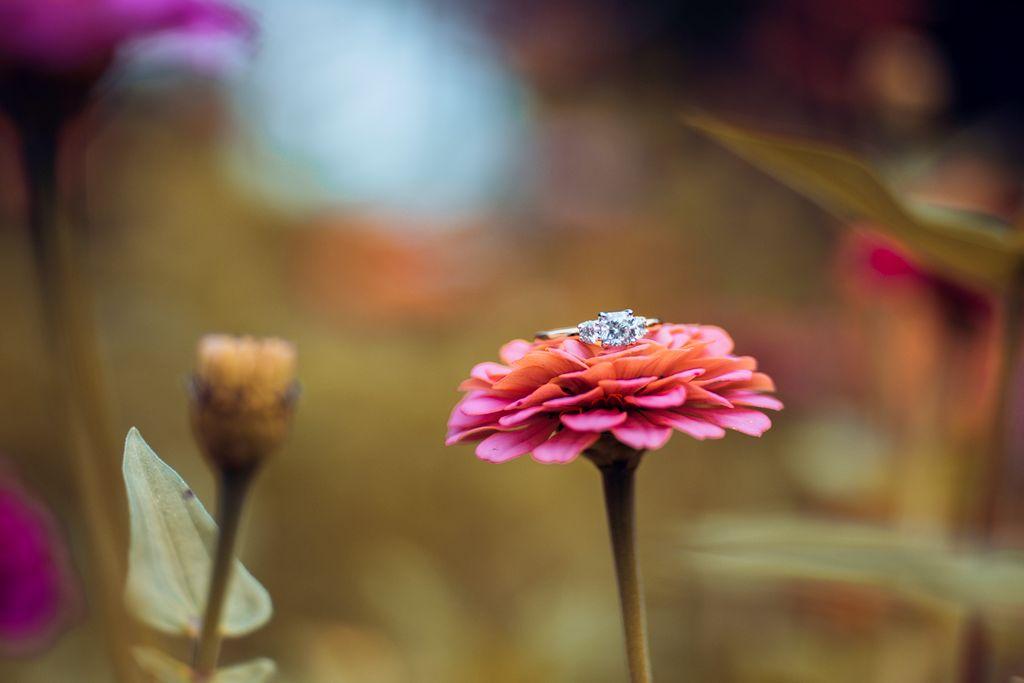 Macro Engagement Ring Photography