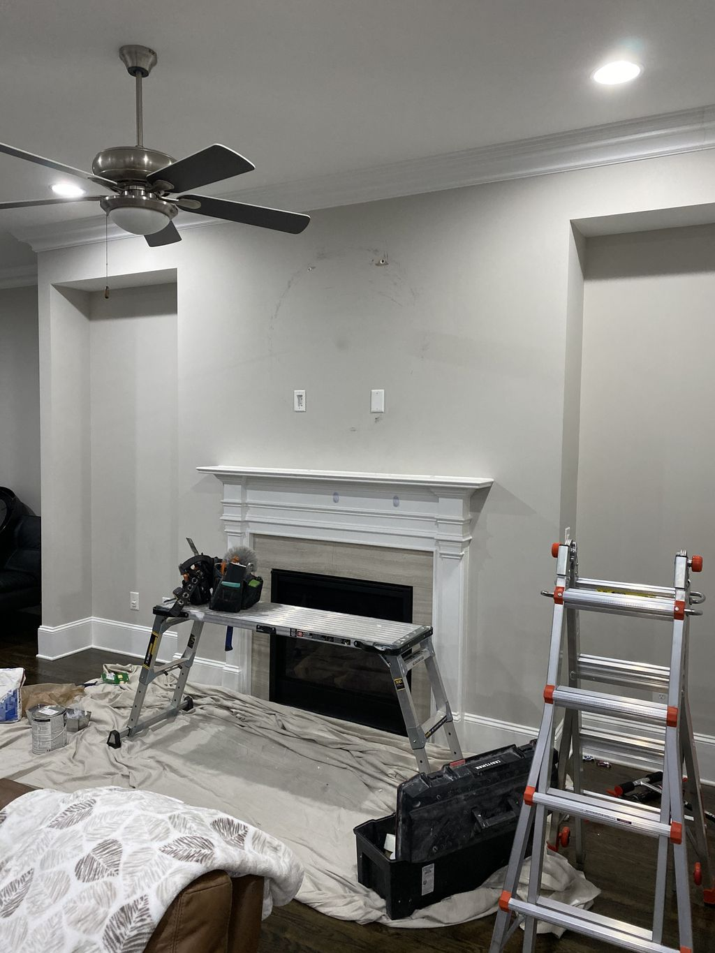 Minor Repair, Touch up, and Fixture Install