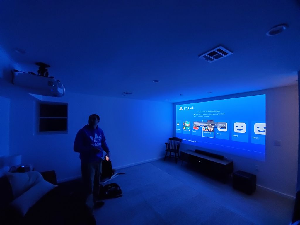 Epson 4K projector Home theater setup