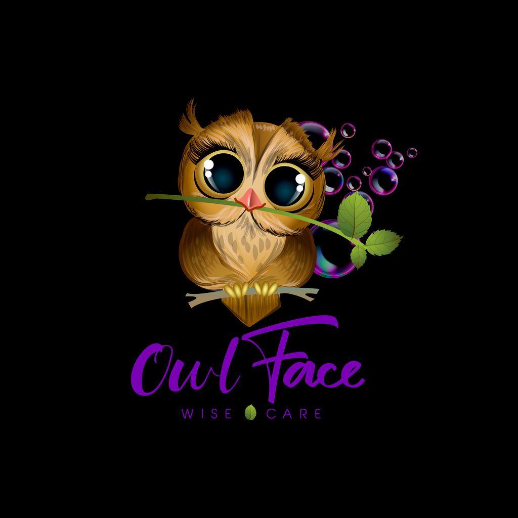 Owl Face Logo