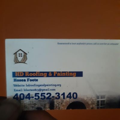 Avatar for HD Roofing and Painting LLC