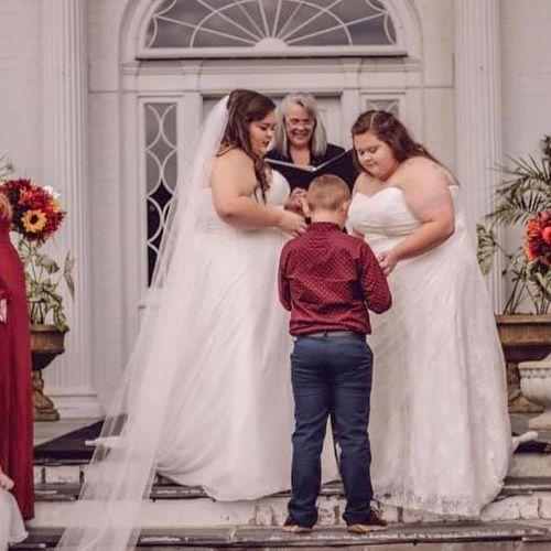 Allandale Mansion wedding in October