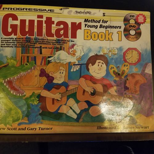 Guitar Book For Younger Beginners