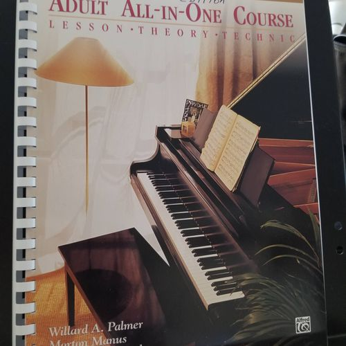 Piano Book for Mature Students