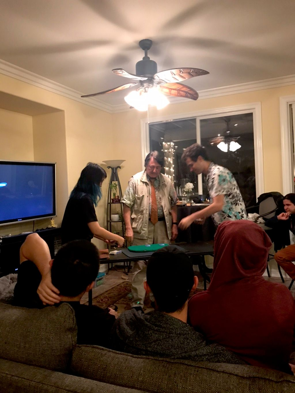 Stockton Family Birthday Party Parlor Show