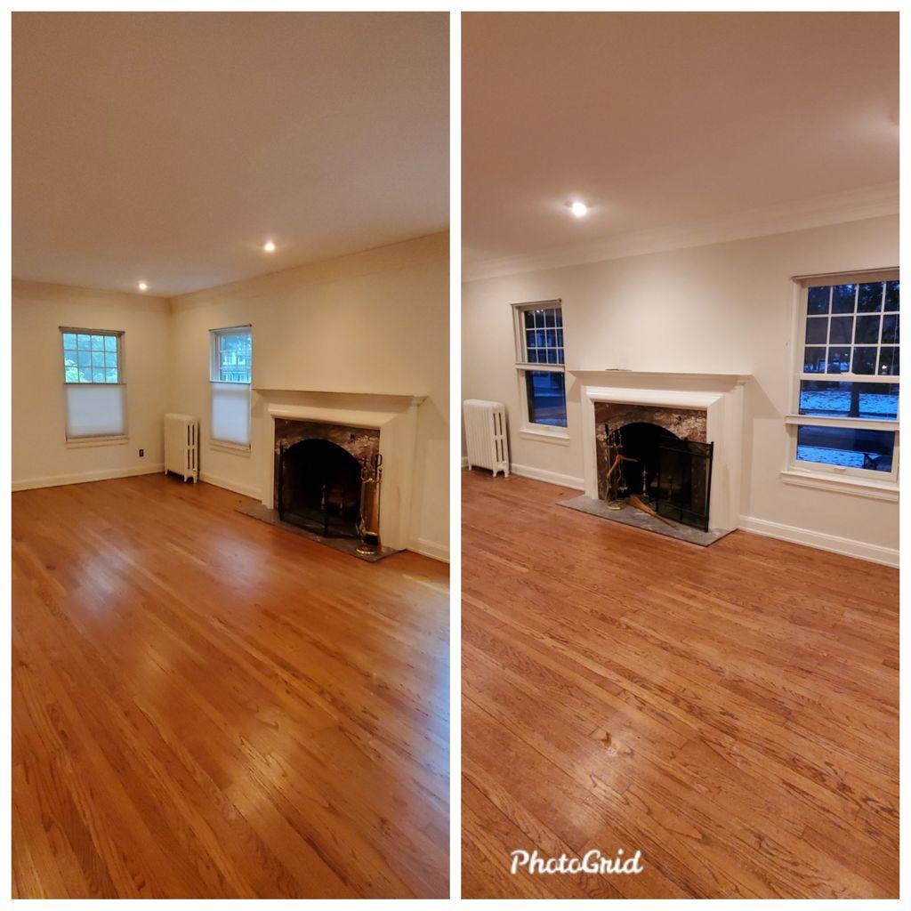 Whole house paint job