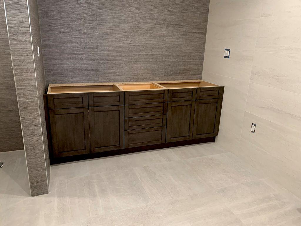 Master Bathroom Install