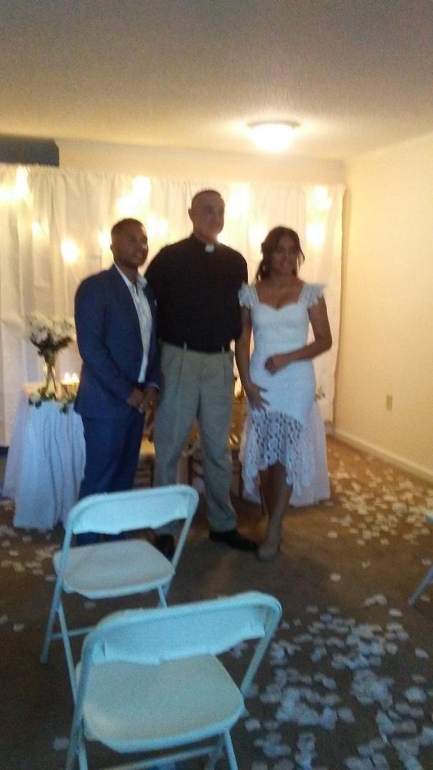 Wedding Officiant - USAF wedding Goldsboro NCg Goldsboro NC