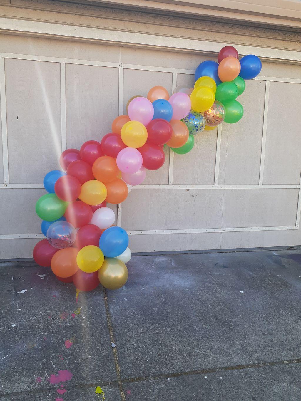 12ft Balloon garland