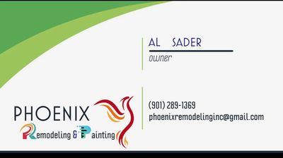 Avatar for Phoenix Remodeling&painting Memphis, TN Thumbtack