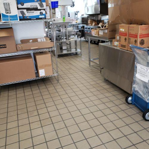 Burger King post construction kitchen clean