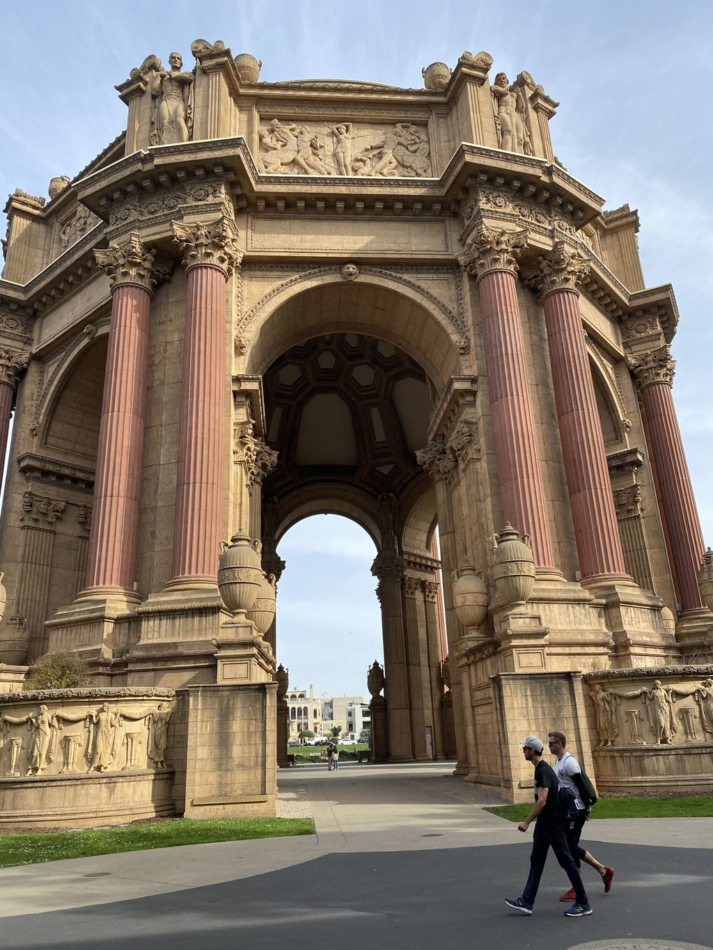 Wedding at the Palace of Fine Arts