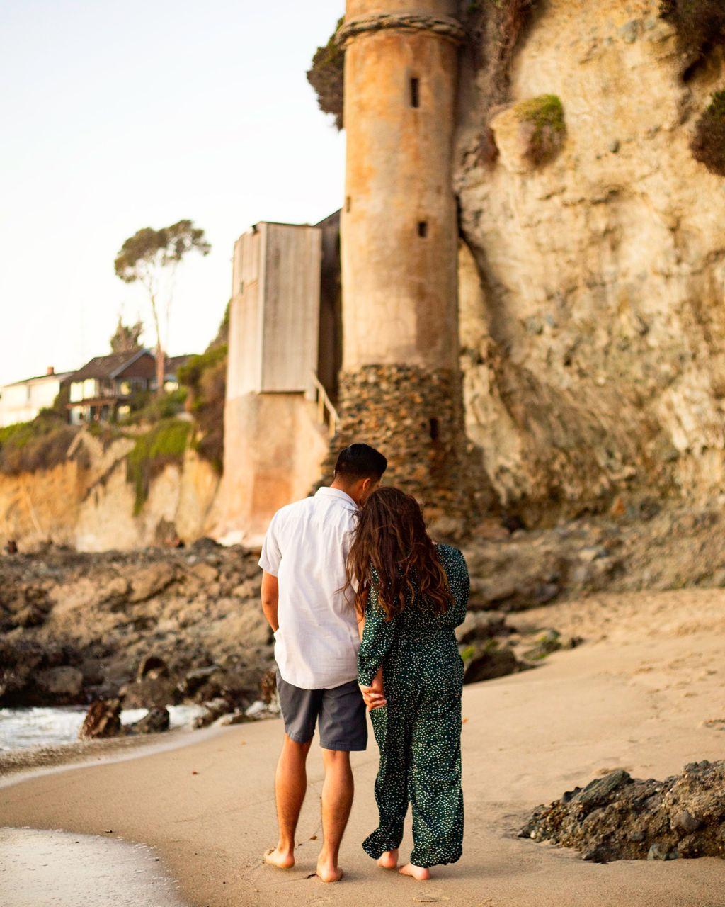 Victoria Beach Engagement - Katelyn & Enrique
