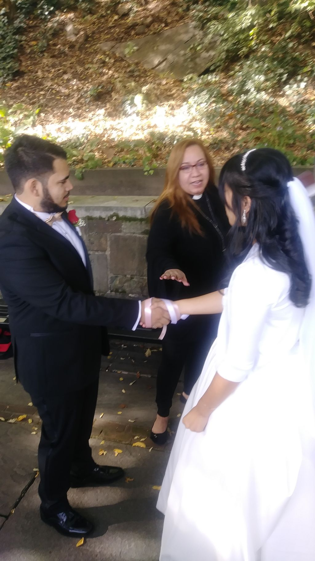 Handfasting Ceremony, Central Park