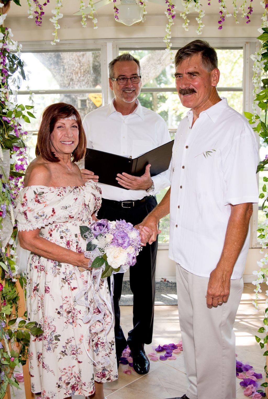 A Simple at Home Wedding- Dunedin 2019