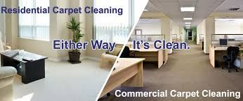 Residentail or commercial carpet cleaning.