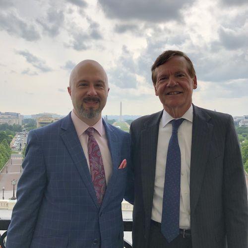 In Washington, DC with Senator Timothy Hutchinson