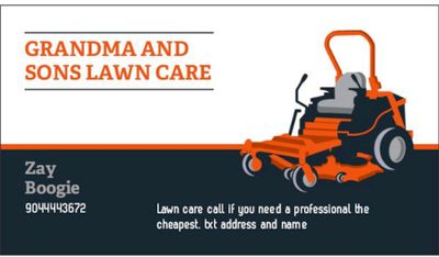 Avatar for Grandma and sons lawn care Jacksonville, FL Thumbtack