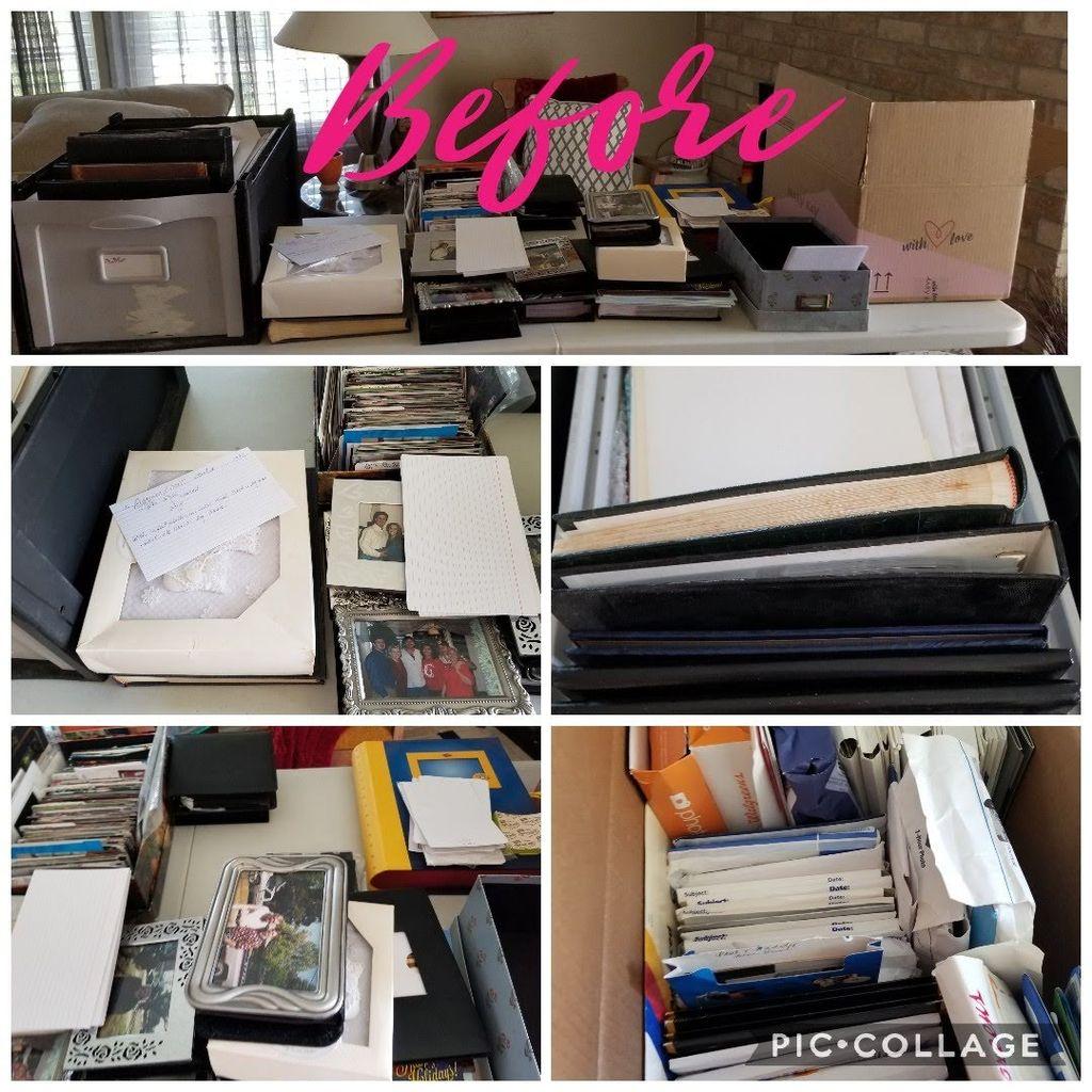 Scan and organize photos