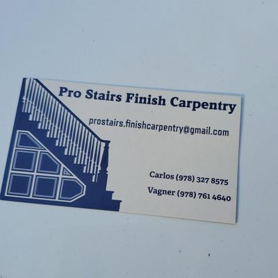 Avatar for Prostairs finish carpentry Lynn, MA Thumbtack