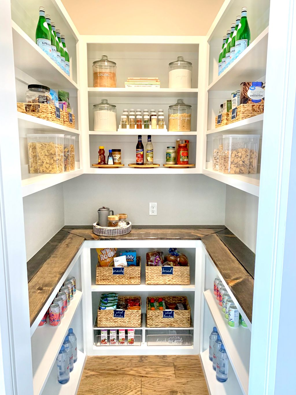 Pantry Staging