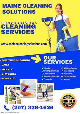 Avatar for Maine Cleaning Solutions