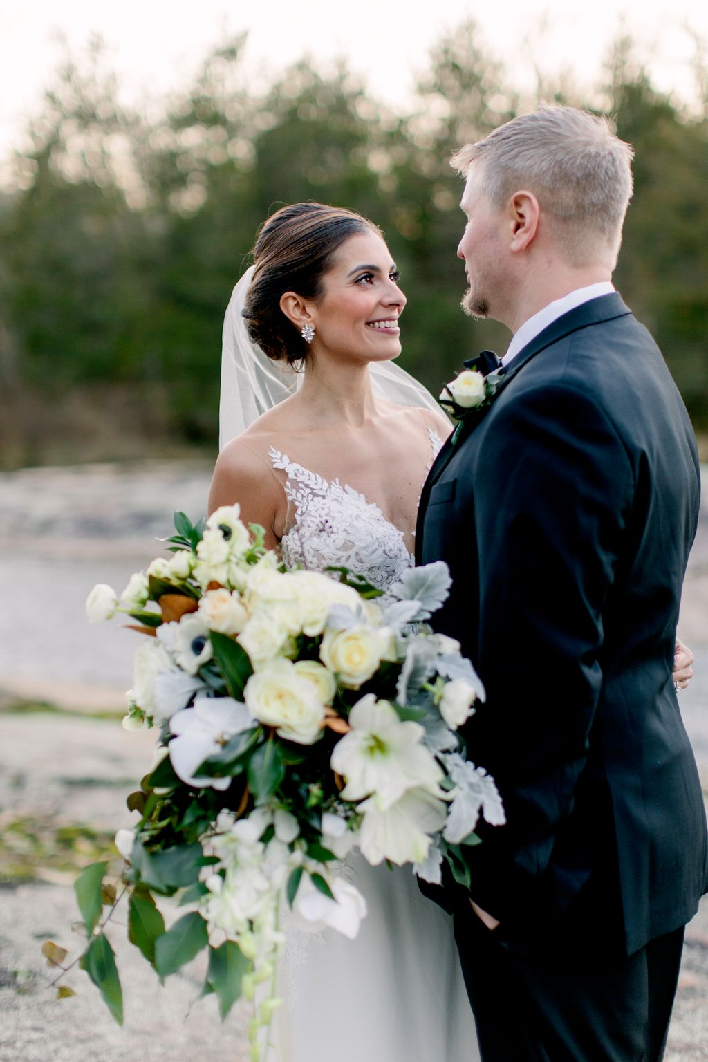 Winter Wedding at the Mill at Fine Creek