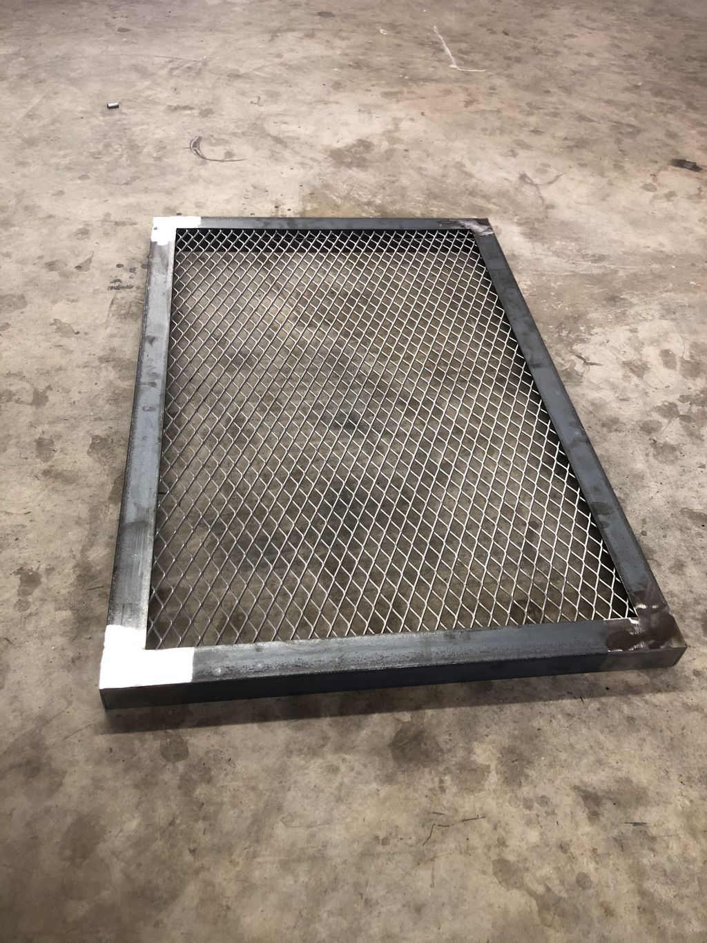 Protective screens fabricated and installed
