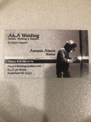 Avatar for A&A welding Smithfield, NC Thumbtack